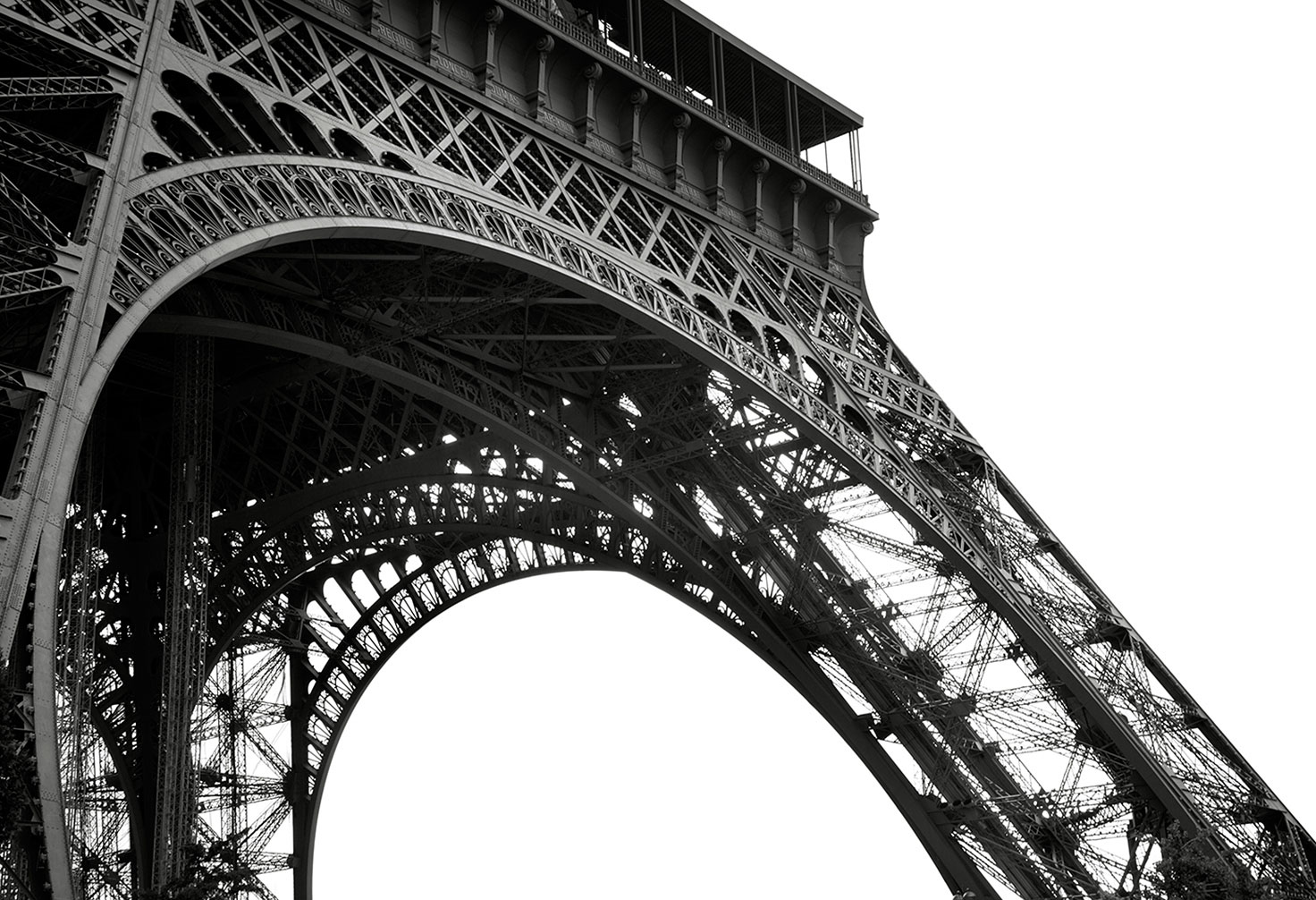 Detial of the  Eiffel Tower 2 of 10
