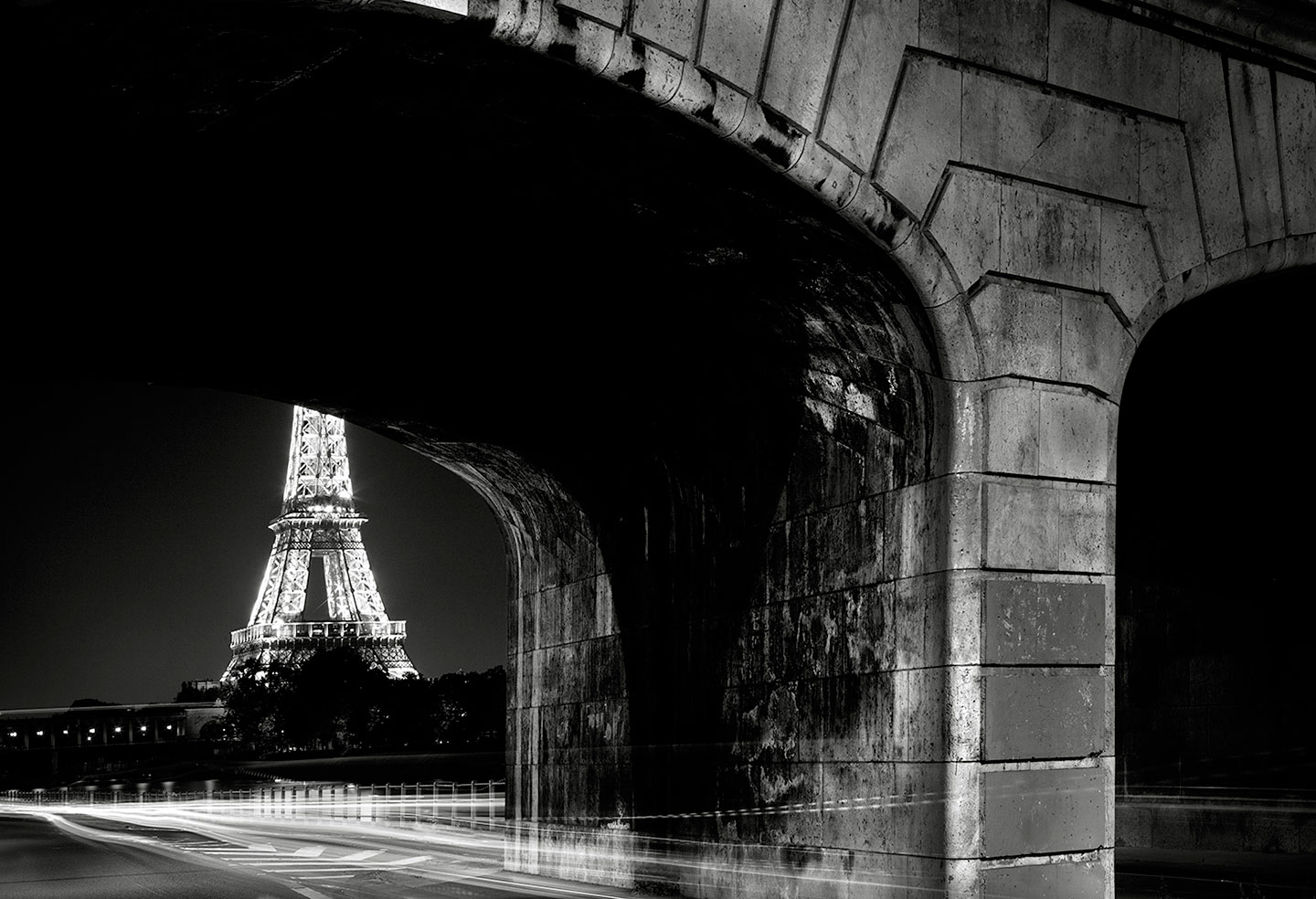 Eiffel Tower and Pont de Bir-Hakeim 2 of 6