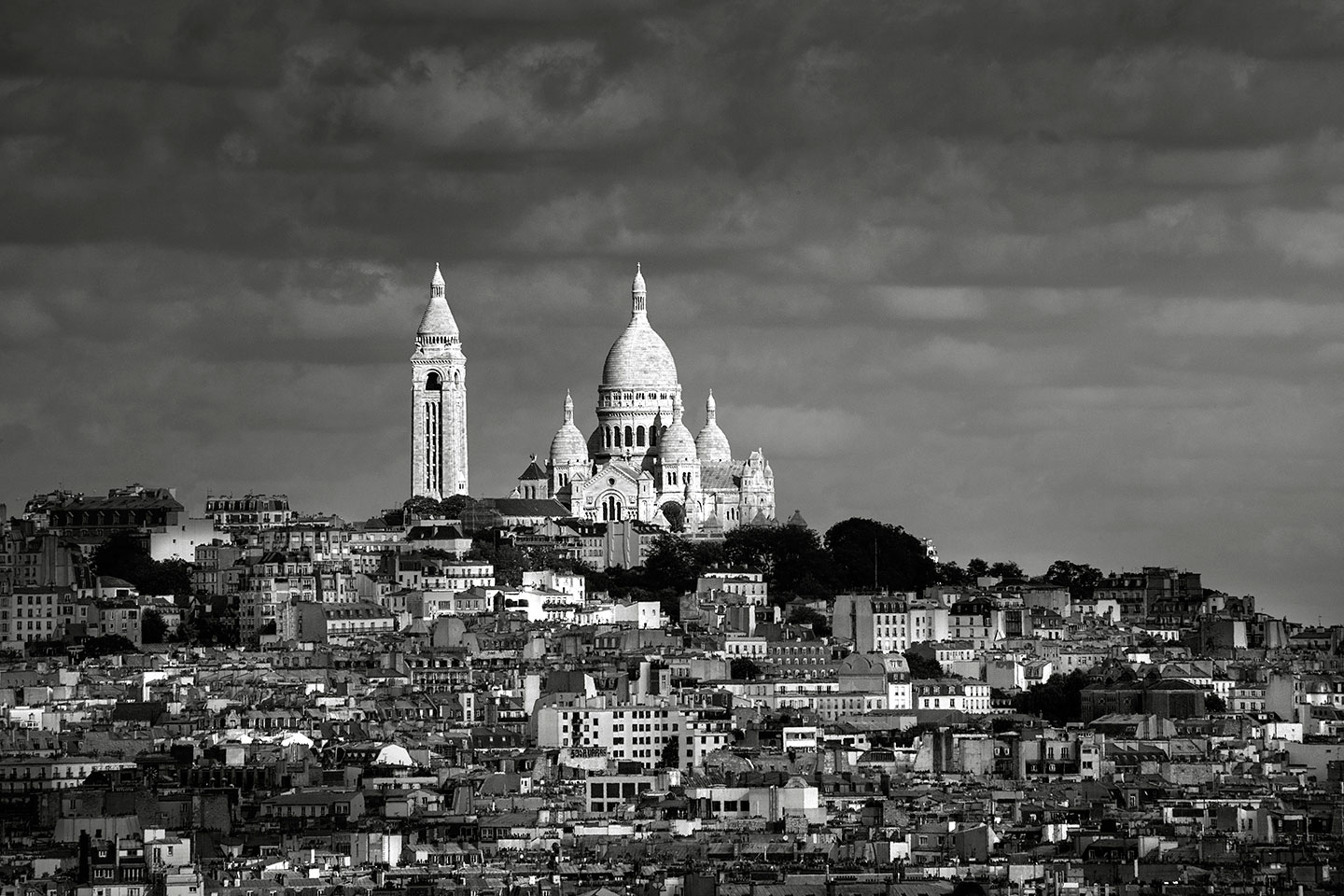 Paris Montmartre and Sacre Coeur