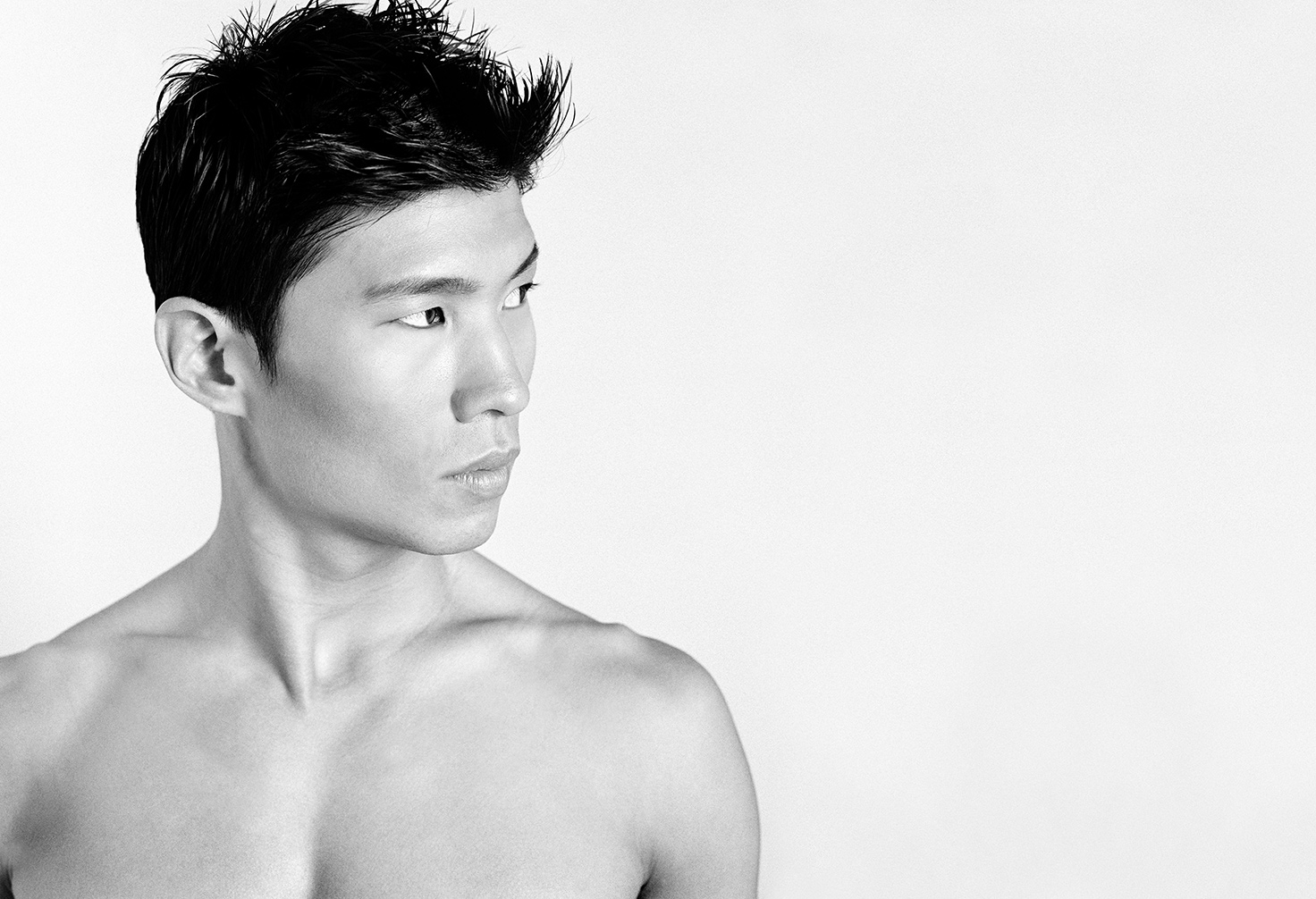 Portrait of Asian male